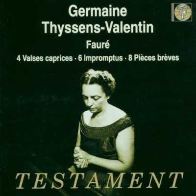 Thyssens-Valentin: Faure - 4 Valses Caprices, 6 Impromptus, 8 Pieces Breves (FLAC)