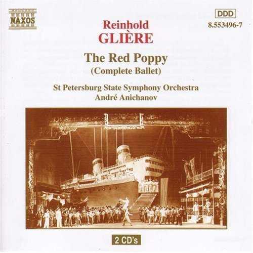 Anichanov: Glière - The Red Poppy (2 CD, FLAC)