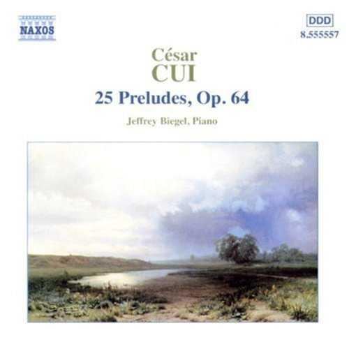 Biegel: Cui - 25 Preludes op.64 (APE)