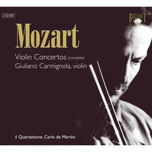 Carmignola: Mozart - Violin Concertos (complete) (2 CD, FLAC)
