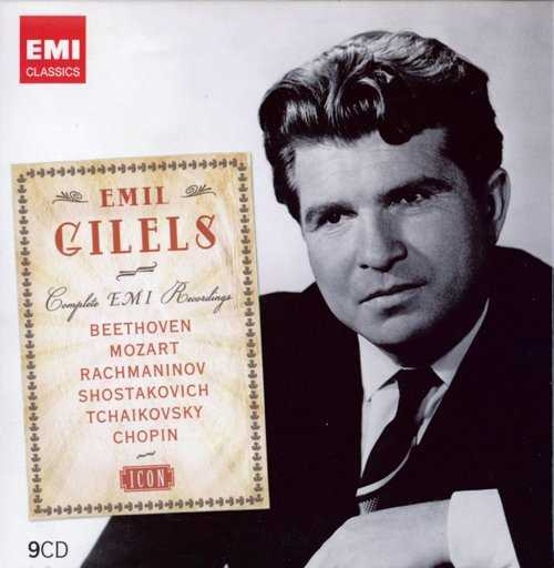 EMI Icon: Emil Gilels - Complete EMI Recordings (9 CD box set, FLAC)
