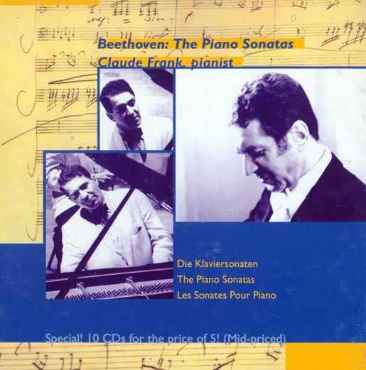 Frank: Beethoven - The Piano Sonatas (10 CD box set, FLAC)