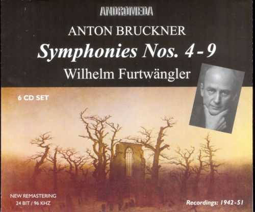 Furtwangler: Bruckner Symphonies nos.4-9 (6 CD box set, APE)