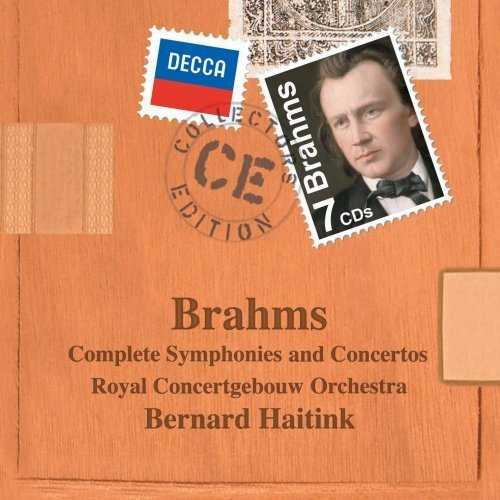 Haitink: Brahms - Complete Symphonies and Concertos (7 CD box set, FLAC)
