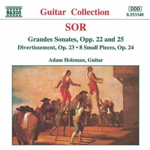 Adam Holzman - Sor: Grandes Sonates, Opp. 22 & 25 (FLAC)