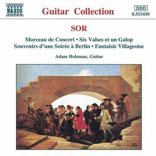 Adam Holzman: Sor - Morceau de Concert, Six Valses et un Galop, etc. (FLAC)