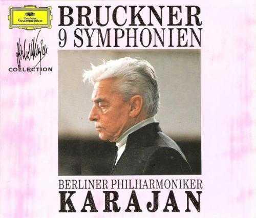 Karajan: Bruckner Symphonies (9 CD box set, FLAC)