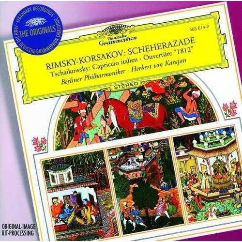 "Karajan: Rimsky-Korsakov - Scheherezade; Tchaikovsky - Capriccio italien, Ouverture ""1812"" (FLAC)"
