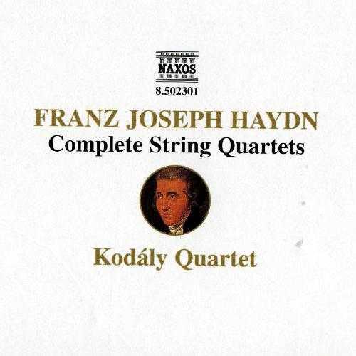 Kodaly Quartet: Haydn - Complete String Quartets (23 CD box set, APE)