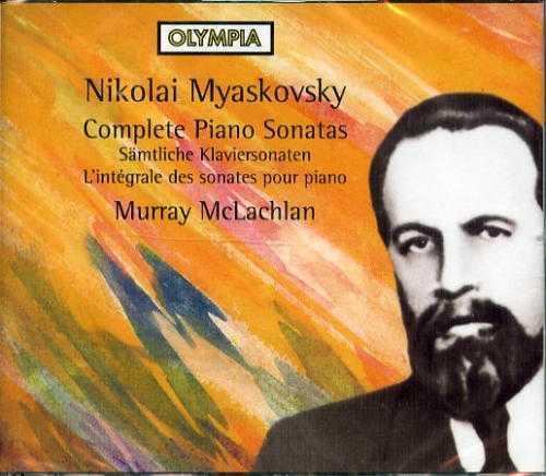 McLachlan: Myaskovsky - Complete Piano Sonatas (3 CD, FLAC)