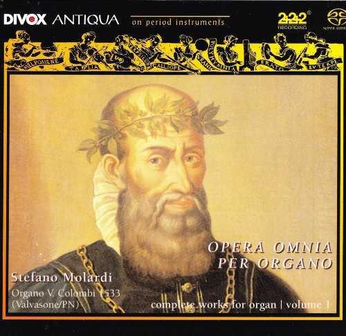 Molardi: Merulo - Complete Organ Works vol.1-2 (4 CD, FLAC)