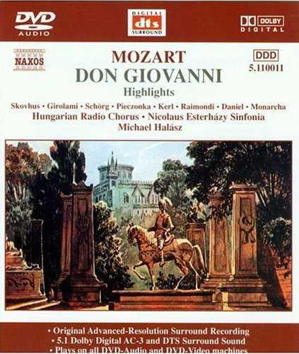 Halasz: Mozart - Don Giovanni (DVD-A, ISO)