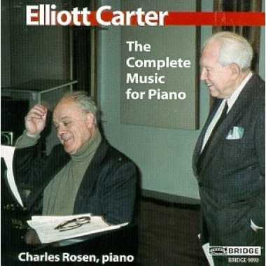 Rosen: Elliott Carter - The Complete Music for Piano (APE)