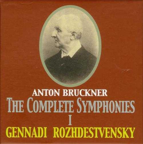 Rozhdestvensky: Bruckner - The Complete Symphonies vol.1,2 (2 x 8 CD box set, APE)