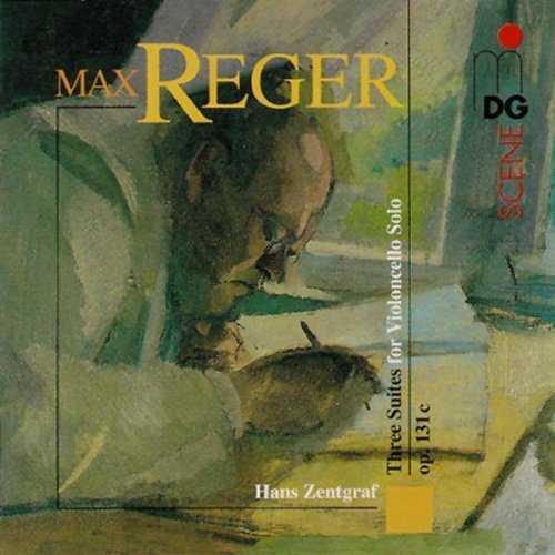 Zentgraf: Reger 3 Suites for Solo Cello op.131c (APE)