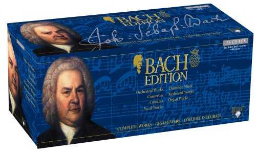 Bach Edition - Complete Works (160 CD box set, FLAC)