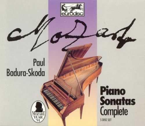 Badura-Skoda: Mozart - Complete Piano Sonatas (5 CD box set, FLAC)
