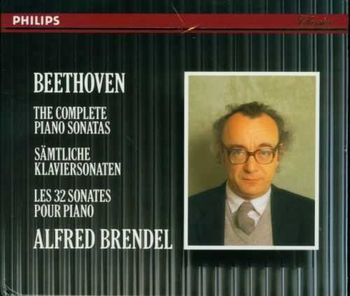 Brendel: Beethoven - The Complete Piano Sonatas (11 CD box set, APE)