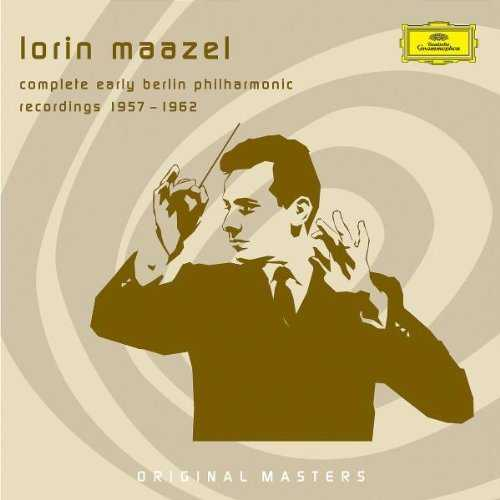 Lorin Maazel - Complete Early Berlin Philharmonic Recordings 1957-1962 (8 CD box set, FLAC)