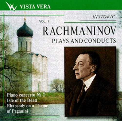 Rachmaninov Plays And Conducts vol.01-08 (8 CD series, FLAC)