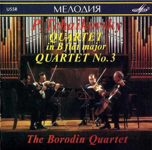 Borodin Quartet: Tchaikovsky - Quartet in B, Quartet no.3 (FLAC)