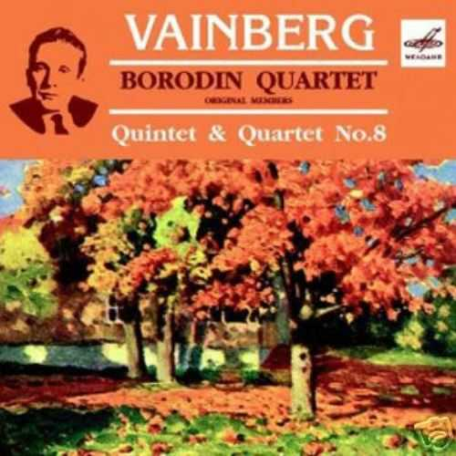 Borodin Quartet: Vainberg - Quintet & Quartet no.8 (FLAC)
