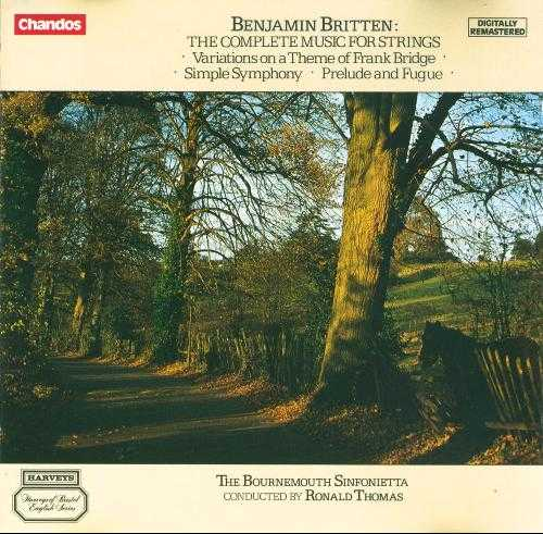 Britten - The Complete Music for Strings (FLAC)