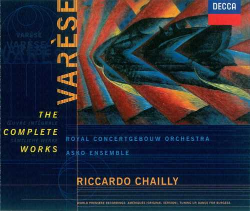 Chailly: Varèse - The Complete Works (2 CD, FLAC)