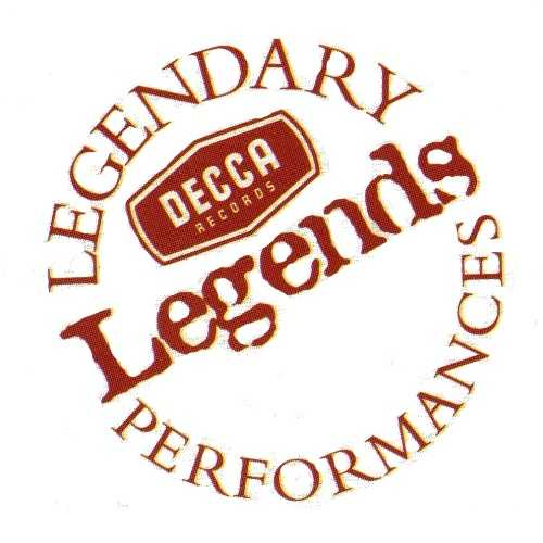 Decca Legends. Legendary Performances.