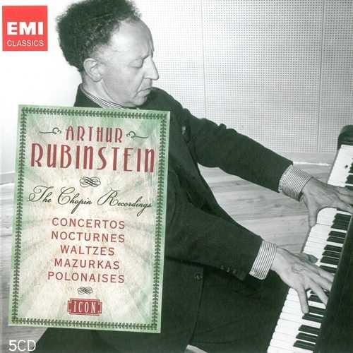 EMI Icon: Rubinstein - The Chopin Recordings (5 CD box set, FLAC)