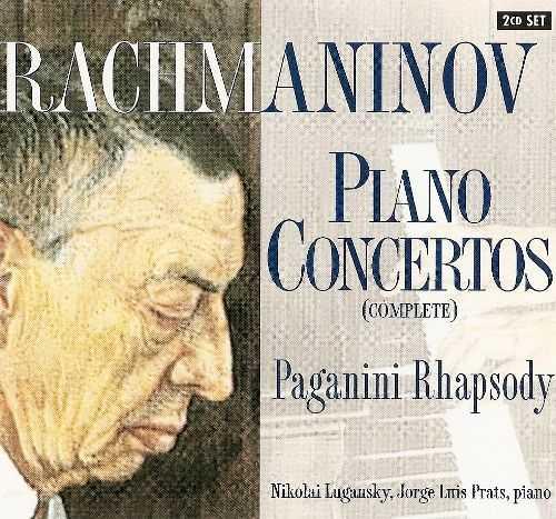 Lugansky, Prats: Rachmaninov - Piano Concertos (Complete), Paganini Rhapsody (2 CD, APE)