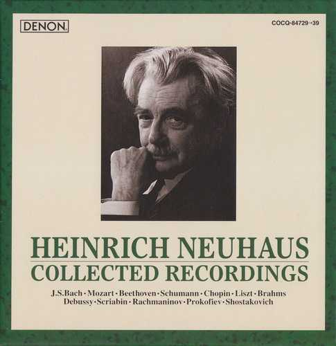Heinrich Neuhaus - Collected Recordings (11 CD, APE)