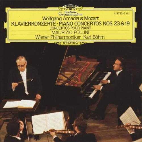 Bohm, Pollini: Mozart - Piano Concertos no.23,19 (APE)