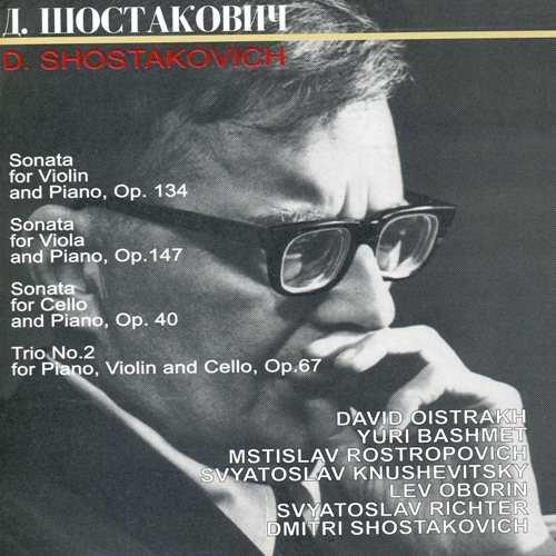 Shostakovich: Sonatas and Trio (2 CD, APE)