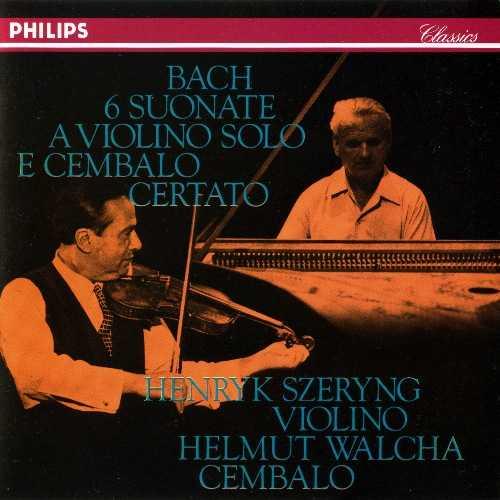 Szeryng, Walcha: Bach - The 6 Sonatas for Violin and Harpsichord (2 CD, FLAC)