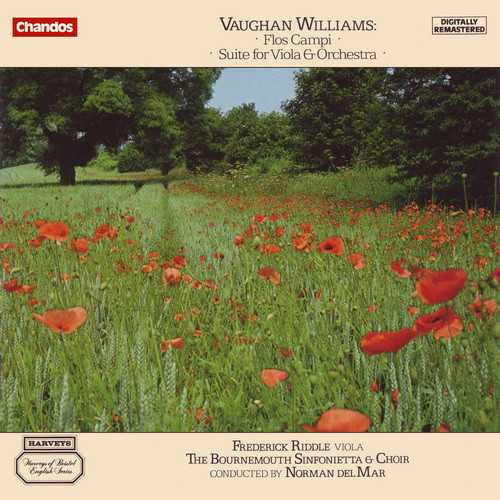 Vaughan Williams - Flos Campi, Suite for Viola and Orchestra (FLAC)