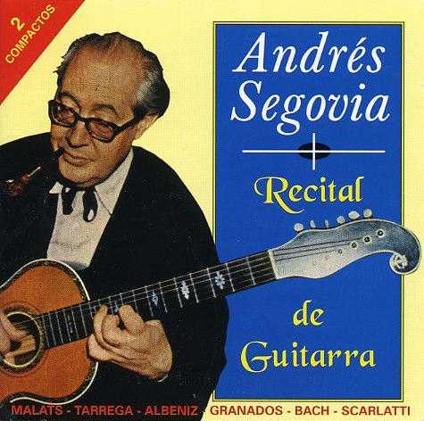 Andres Segovia - Recital De Guitarra (2 CD, APE)