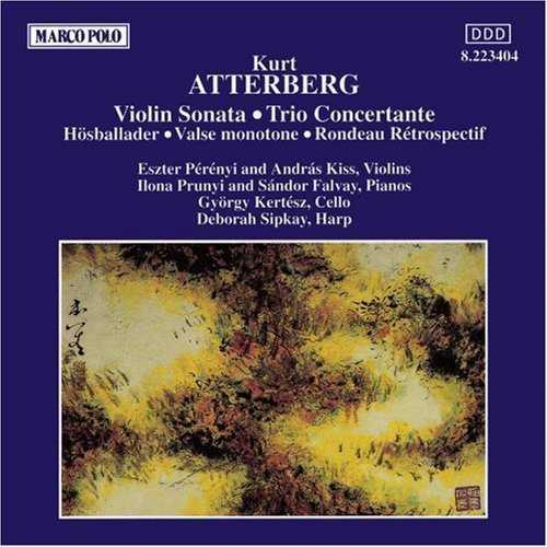 Atterberg - Violin Sonata, Trio Concertante, Hostballader for Piano, Valse Monotone in C Major, Rondeau Retrospectif (FLAC)