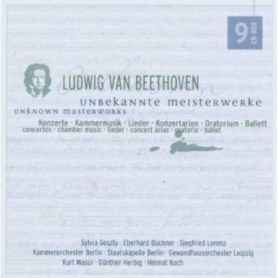 Beethoven - Unknown Masterworks (9 CD box set, FLAC)