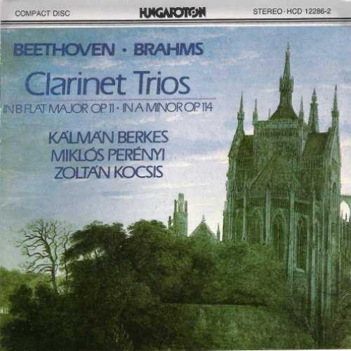 Berkes, Perenyi, Kocsis: Beethoven, Brahms - Clarinet Trios (FLAC)