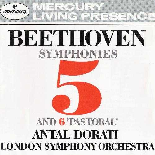 "Dorati: Beethoven - Symphonies no. 5 & 6 ""Pastoral"" (APE)"