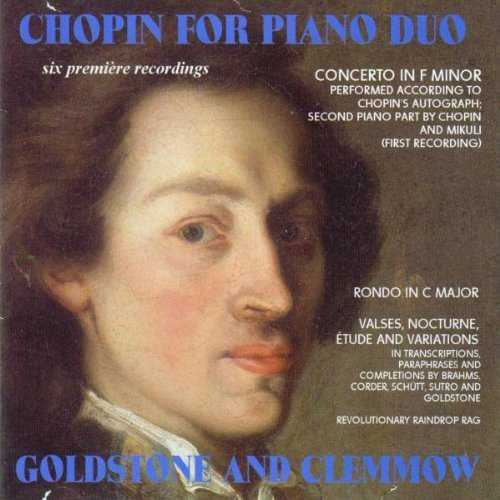 Goldstone and Clemmow: Chopin for Piano Duo (FLAC)