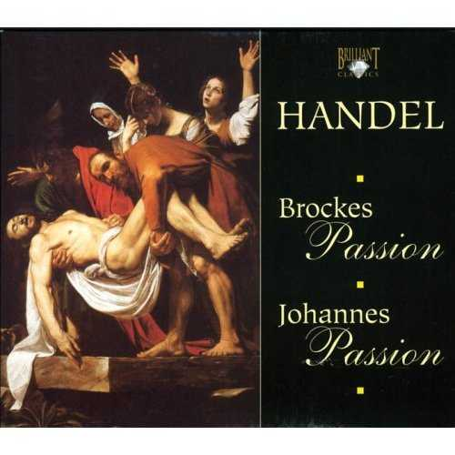 Handel - Brockes Passion, Johannes Passion (4 CD box set, APE)