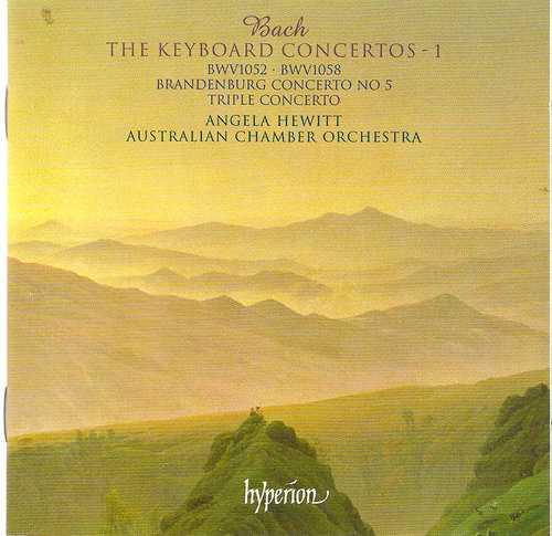 Hewitt: Bach - The Keyboard Concertos vol.1, 2 (2 CD, FLAC)
