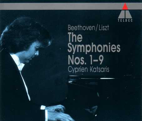 Katsaris: Beethoven, Liszt - Symphonies no.1-9 (6 CD box set, APE)