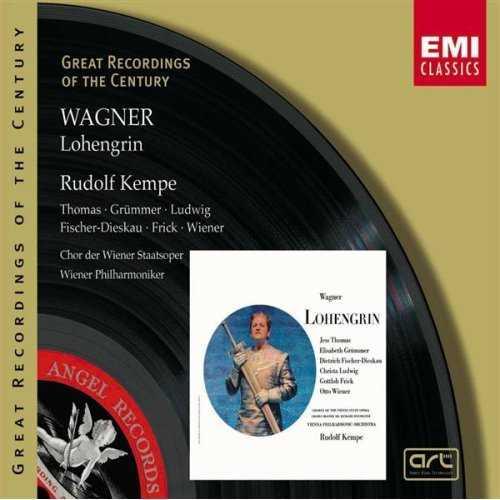 Kempe: Wagner - Lohengrin (3 CD, FLAC)