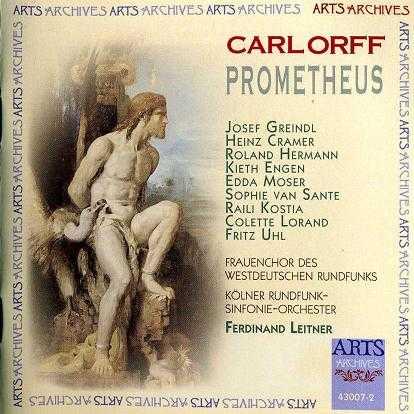 Leitner: Orff - Prometheus (2 CD, APE)