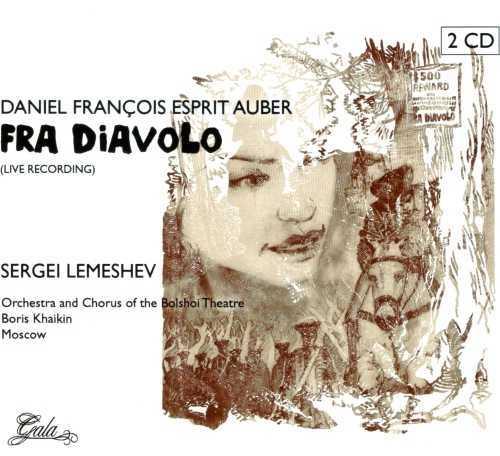 Lemeshev: Auber - Fra Diavolo, Live Recording (2 CD, APE)