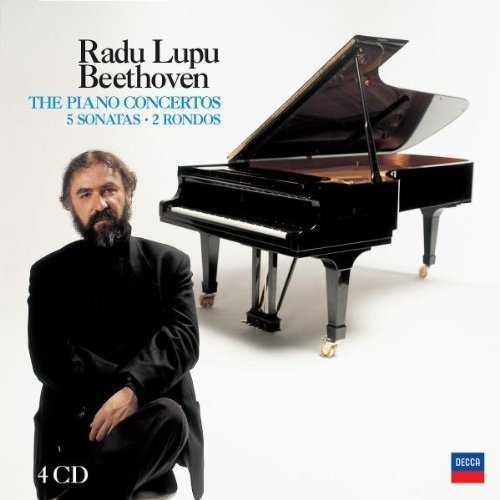 Lupu: Beethoven - The Piano Concertos, 3 Sonatas, 2 Rondos (4 CD box set, APE)