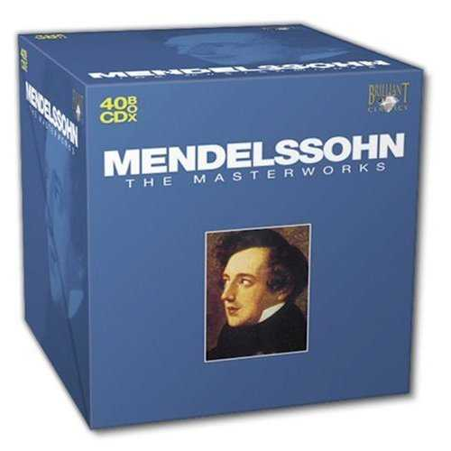 Mendelssohn - The Masterworks (40 CD box set, APE)